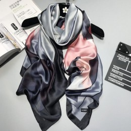 RUNMEIFA 2020 luksusowa marka nowy lato kobiety jedwabny szal plaża hidżab szale i okłady kobiet Foulard darmowa wysyłka