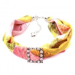 RUNMEIFA multi-style biżuteria oświadczenie naszyjnik ozdobny zwisający szal kobiety czechy szalik Foulard Femme akcesoria hidża