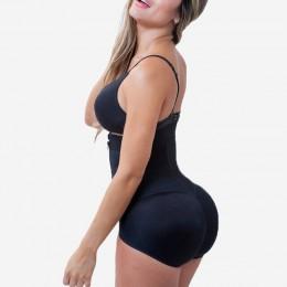 Plus rozmiar Hot Latex Sexy kobiety urządzenie do modelowania sylwetki Post liposukcja pas klip i Zip body kamizelka talia Shape