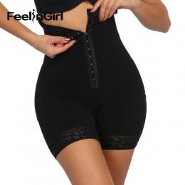 FeelinGirl wysokiej talii Butt Lifter gorset Waist trainer wyszczuplające majtki brzuch majtki modelujące bielizna korygująca Sh