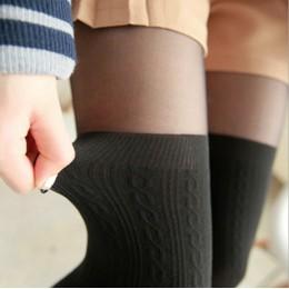 2020 rajstopy damskie styl na wiosnę i jesień kobiety dziewczęta śliczne czarne skręcone pończochy samonośne skręcone rajstopy r