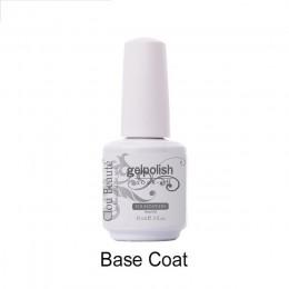 Clou Beaute 15ml warstwa wierzchnia Bese płaszcz lakier do paznokci lakier do paznokci do Manicure do paznokci Soak Off lakier d