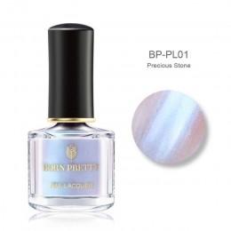 BORN PRETTY Shimmer holograficzny lakier do paznokci Shell Series szybkoschnący laserowy lakier do paznokci manicure porady kolo