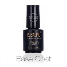 ROSALIND płaszcz podstawowy warstwa wierzchnia matowy Top zestaw żel do paznokci na żel do manicure lakiery UV LED przedłużenie