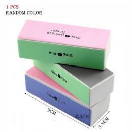 1 zestaw różowy biały formularz bufory do paznokci plik do żelu UV biały pilnik do paznokci blok buforowy polski Pedicure szlifo