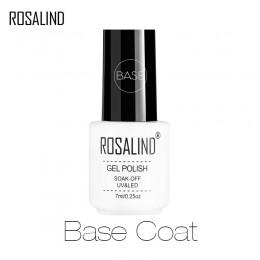 Rosalind biała butelka żel bazowy podkład do paznokci lakier do paznokci UV LED płaszcz podstawowy uszczelnienie powierzchni paz