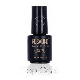 ROSALIND multi-use top żelowy lakier do paznokci utrzymuj kolor lakier do paznokci desgin trwały i chroń powierzchnię paznokci d
