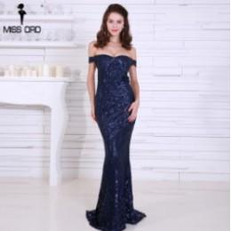 Missord 2020 lato Sexy biustonosz Party Dress cekinowa sukienka Maxi Off the Shoulder Bodycon eleganckie sukienki damskie FT4912