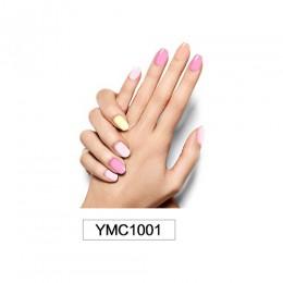 Czysta kolorowe do DIY paznokci okładki pełna pokrywa paznokcie naklejki dekoracje artystyczne Manicure klej polski paznokci jed