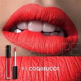 Focallure 25 kolor wodoodporny matowy szminka w płynie odcień ust matowy błyszczyk kosmetyczny szminka długotrwały Nude błyszczy