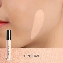 FOCALLURE Full Cover 8 kolorów płynny korektor do makijażu 6ml krem do oczu ciemne koła korektor do twarzy wodoodporna baza do m
