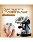 ICalifas filtr do kawy wielokrotnego napełniania do ekspresu do kawy illy Cafe kapsułki kubek Metal stal nierdzewna wielokrotneg