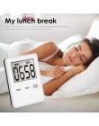 Magnes kuchnia czasomierz kuchenny s cyfrowy ekran LCD minutnik plac czasomierz kuchenny Timer z alarmem DroshippingTSLM2
