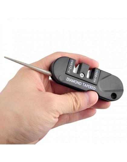 Wolfram ceramiczny karbid nóż kieszonkowy narzędzie diamentowe nożycowy ostrzałka rybna ostrzałka marmurowa outdoor multi Hook C