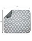 Tofok mata do suszenia naczyń ręcznik kuchenny poduszka zastawa stołowa Bar z mikrofibry podkładka chłonna do kuchni Hotel zlew