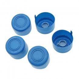 5 sztuk/partia 3 galon 5 galonów wielokrotnego użytku Replacemet butelka wody Snap On pokrywki Non Spill czapki przeciw rozprysk