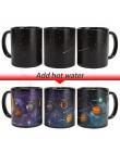 Kreatywny kubek ceramiczny kubek zmieniający kolor ciepła odsłaniający kubek kawy przyjaciele prezent uczeń kubek śniadaniowy gw