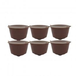ICafilas wielokrotnego użytku Dolci Gusto kapsułka z kawą 3. Dwukolorowe plastikowe wielokrotnego napełniania Dolce Gusto nadają