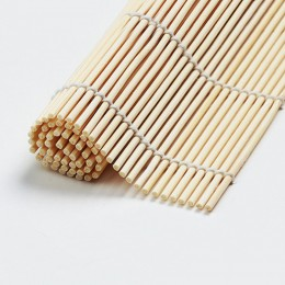 Nowy 1 sztuk Sushi narzędzie bambusowa mata zwijana DIY Onigiri ryż rolki kurczaka rolki ekspres ręczny kuchnia japońskie Sushi.