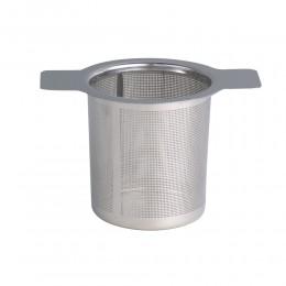 1pc ze stali nierdzewnej wyciek herbaty podwójne ucho ze stali nierdzewnej wyciek herbaty wyciek kawy filtr do herbaty dla czajn