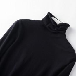 Nowa jesienno-zimowa miękki kaszmir swetry z golfem swetry damskie 2019 koreański, slim-fit pull sweter odzież damska swetry