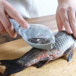 Akcesoria kuchenne ryba szczoteczka do skóry skrobanie skala szczotka tarka narzędzie demontaż nóż do czyszczenia obieraczka ska