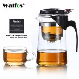 Szkło odporne na ciepło dzbanek na herbatę herbata kwiatowa zestaw czajnik do pu-erh czajnik do kawy wygodny z zaparzaczem Offic