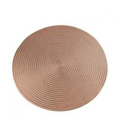 1PC okrągłe podkładki izolacyjne maty stołowe podkładki plastikowe ustawienie stołu antypoślizgowe maty antypoślizgowe kawa herb