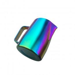 Dzbanek do kawy 450ML ze stali nierdzewnej dzbanek do spieniania mleka kubki kafiatera do Espresso dzbanek do kawy narzędzia bar