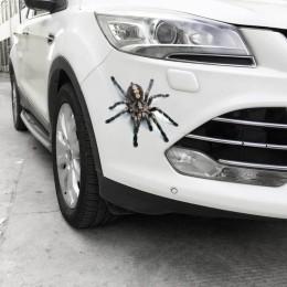 Fajne naklejki ścienne 3D zwierzęta pająk Gecko skorpiony winylowa naklejka na ścianę naklejki dla domu samochody Auto pokrowiec
