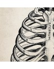 Anatomia człowieka nauka Vintage plakaty artystyczne drukuje, anatomia medyczna obraz na płótnie lekarz medycyny klinika ścienne