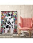 Nowoczesne Graffiti Street Art Cartoon plakaty i druki na płótnie obrazy dekoracje ścienne do salonu sypialnia dziecięca Cuadros