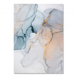 Plakat dekoracyjny marmur abstrakcyjny obraz na płótnie atrament alkoholowy plakaty i druki zdjęcia ścienny nadruk geometryczny