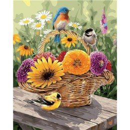 CHENISTORY obraz w ramie według numerów zwierzęta ręcznie malowany obrazek według numerów zestaw Home obraz ścienny na płótnie d