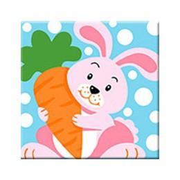 RUOPOTY Frame Fox Animal ręcznie malowany obrazek według numerów zestaw akrylowy kolorowanie według numerów obraz na ścianę obra