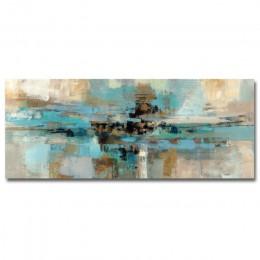 Nowoczesny abstrakcyjny długi obraz z nadrukiem na płótnie zdjęcia plakaty i druki do salonu dekoracja ścienna bez ramki