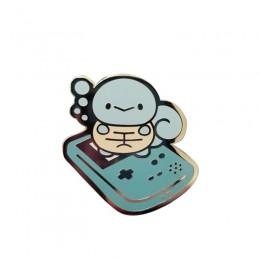 Squirtle Pokemon starter odznaka śliczny kontroler do gier pin nostalgia rozrywka biżuteria