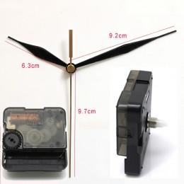 Suzuki cichy ruch plastikowy zegar naścienny ruch czarny 12  białe ręce zegar akcesoria zegar kwarcowy ruch HS88