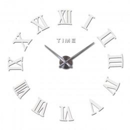 Nowy zegar ścienny zegarek zegary reloj de pared home decoration 3d akrylowa specjalna naklejka do zrobienia w domu salon igły