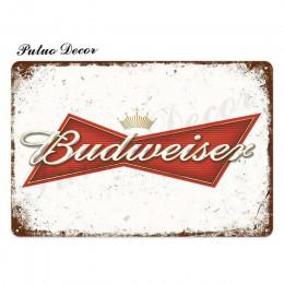Piwo metalowa plakietka z napisem Metal Vintage Pub znak blaszany metalowa płytka dekoracje ścienne dla Bar Pub Club Man jaskini