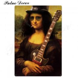 Rock & Roll metalowy znak plakietka z napisem Metal vintage rockowe metalowy plakat retro ściana wystrój dla baru Pub Club Man C