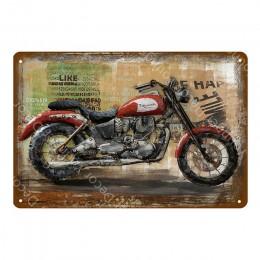 Motocykle Triumph usług mapy produktów i ceny metalowe tabliczki cykli rowery do zawieszania na ścianie plakat Pub Bar garażu de