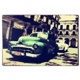 Tablica samochód motyw znaki na metalowej blaszce w stylu vintage motocykl plakat na ścianę naklejki płyta malarstwo Bar Club Pu