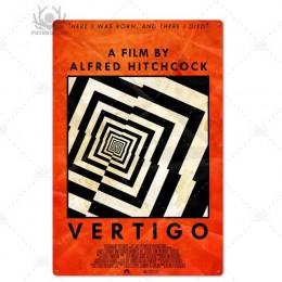 Stary film metalowy plakat plakietka metalowa Vintage klasyczny film metalowy znak blaszany dekoracje ścienne dla Bar Pub Club M