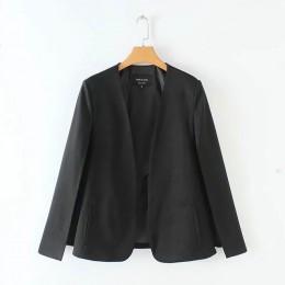 Podział projektu kobiety płaszcz płaszcz wierzchni w stylu casual, damska czarny i biała kurtka moda streetwear luźna odzież top