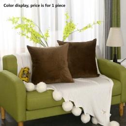 Bardzo miękki aksamit poszewka na poduszkę 30x5 0/40x4 0/45x4 5/40x6 0/50x5 0/55x5 5/60x60cm poduszka dekoracyjna na poduszkę po