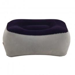 Miękka stopa poduszka wypoczynkowa PVC dmuchana poduszka pod stopy poduszka wypoczynkowa poduszka podróże lotnicze biuro w domu