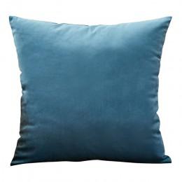 Poszewka na poduszkę aksamitna poszewka na poduszkę 40x40cm do Sofa do salonu dekoracyjne poduszki Home Decor Housse De Coussin