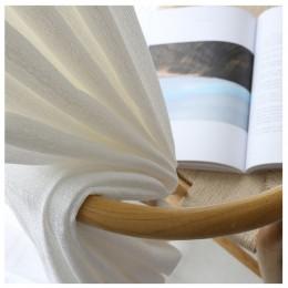Solidny biały gruby tiul zasłony do salonu sypialnia Sheer zasłony nowoczesne woal dekoracyjne zabiegi okienne dostosowane