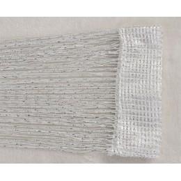 1x2m zasłona sznurkowa błyszczące Tassel linii zasłony do salonu kuchnia parawan do drzwi, okien zasłona Decor Valance